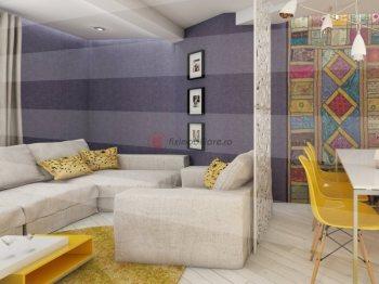 Apartamente noi de vanzare, 2 camere 52mp, in zona Garii